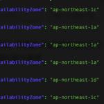 AWS CLI jq を使ってJSONを見やすくする